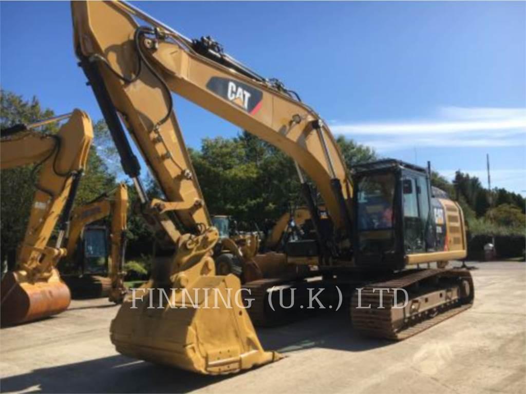 Caterpillar 329EL HAM, Raupenbagger, Bau-Und Bergbauausrüstung