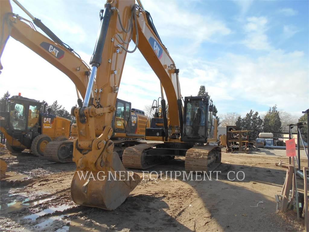 Caterpillar 329EL HMR, Escavatori cingolati, Attrezzature Da Costruzione