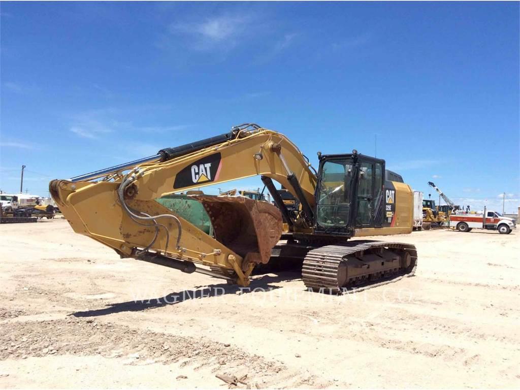 Caterpillar 329EL TC, Escavadoras de rastos, Equipamentos Construção