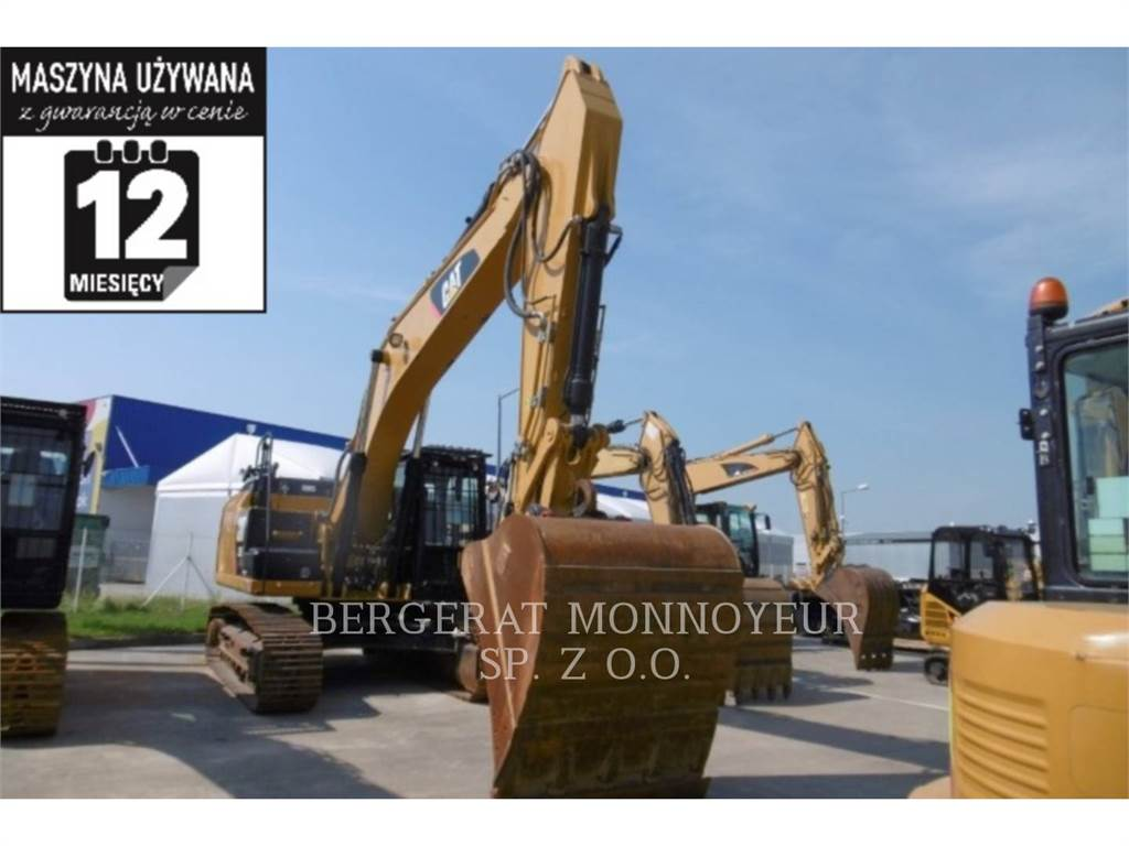 Caterpillar 329ELN, Raupenbagger, Bau-Und Bergbauausrüstung