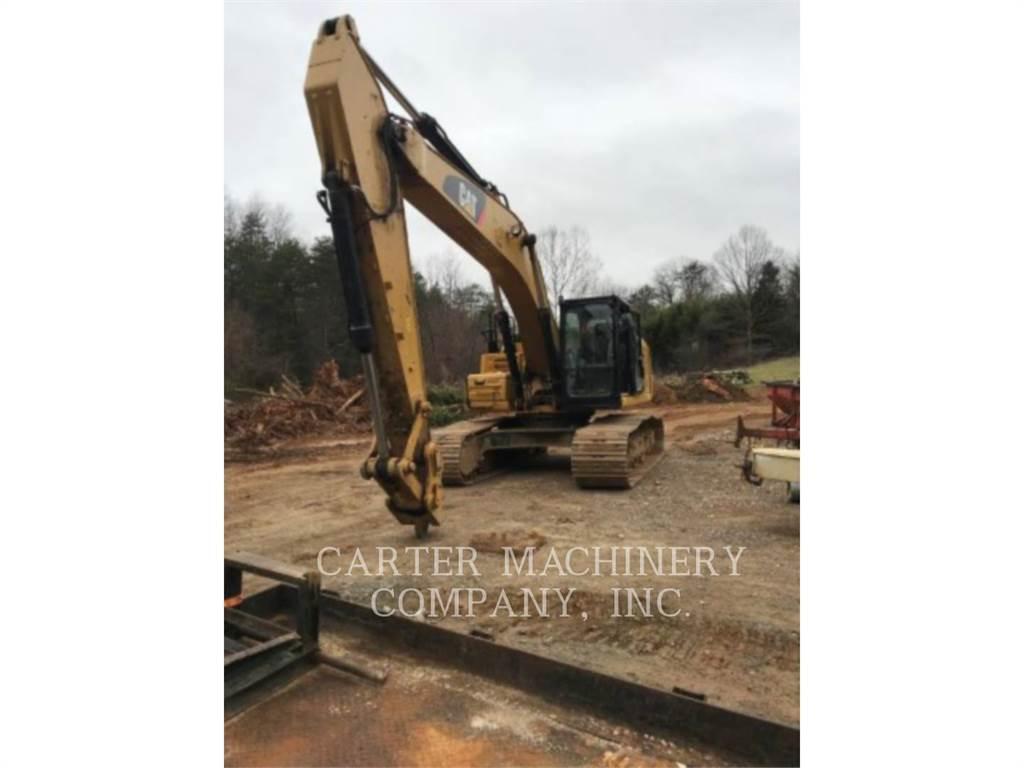Caterpillar 329F, Excavatoare pe senile, Constructii