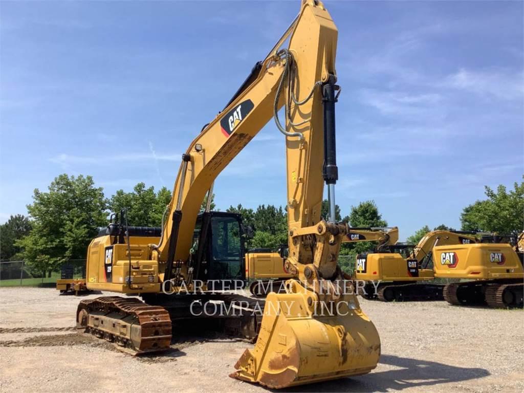 Caterpillar 329F CF, Crawler Excavators, Construction