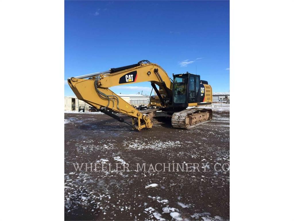 Caterpillar 329F L CF, Excavadoras de cadenas, Construcción