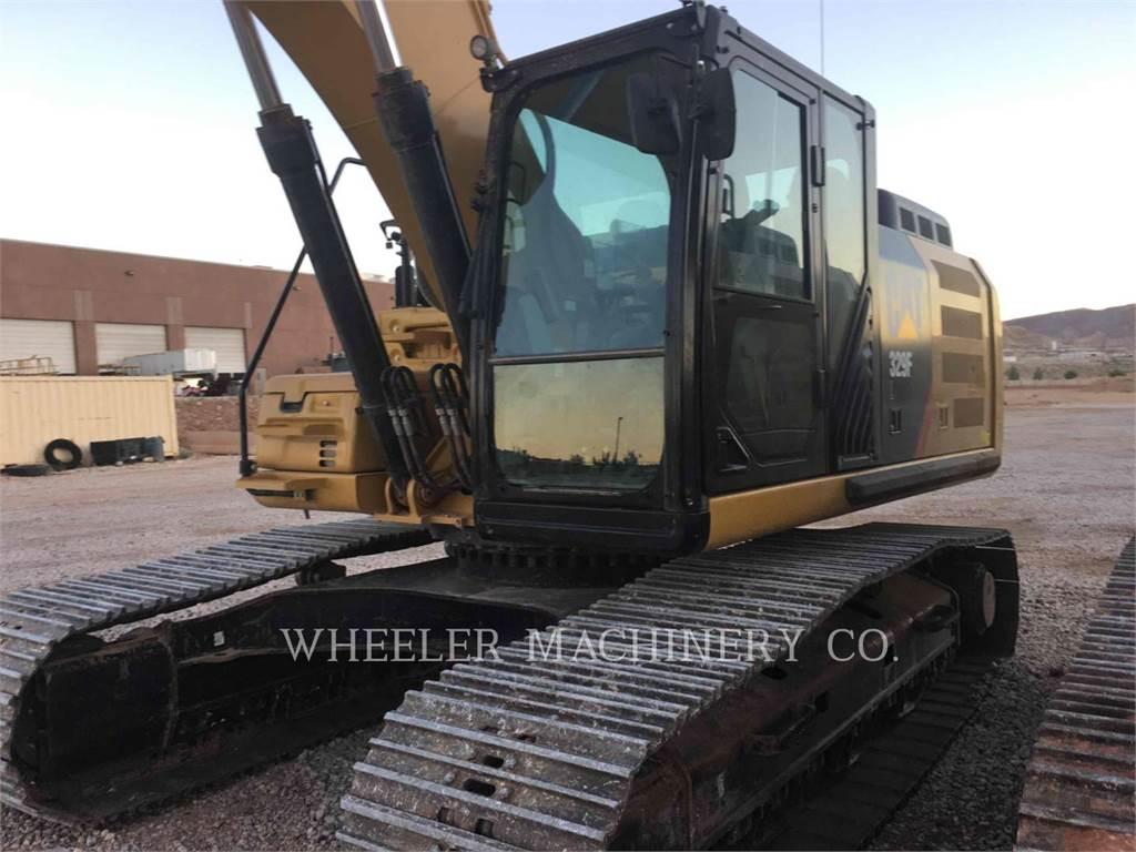 Caterpillar 329F L CF, Pelle sur chenilles, Équipement De Construction