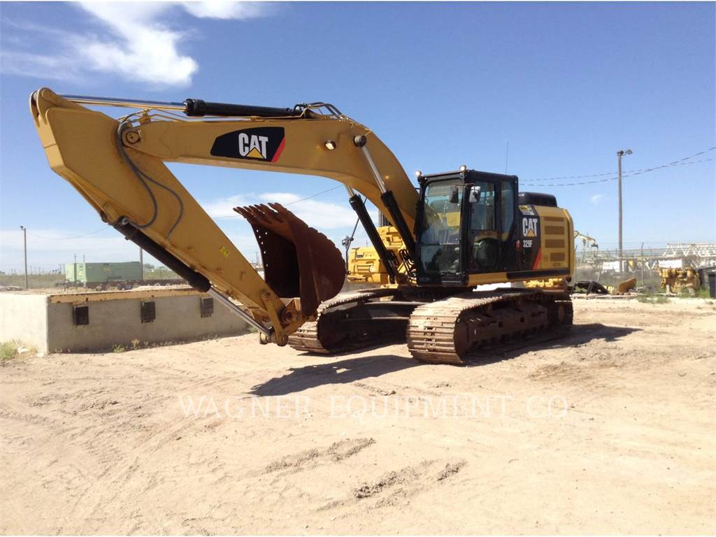 Caterpillar 329FL, Crawler Excavators, Construction