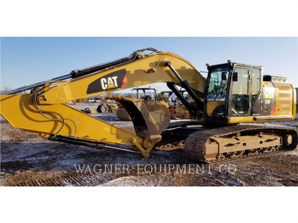 Caterpillar 329FL, Escavadoras de rastos, Equipamentos Construção