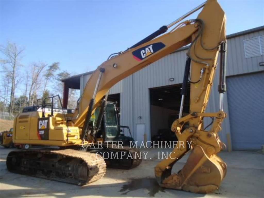 Caterpillar 329FL, Raupenbagger, Bau-Und Bergbauausrüstung