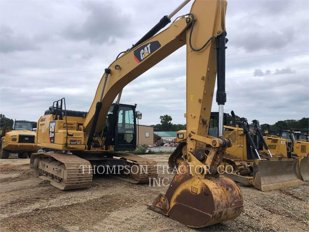 Caterpillar 329FL, Crawler Excavators, Construction