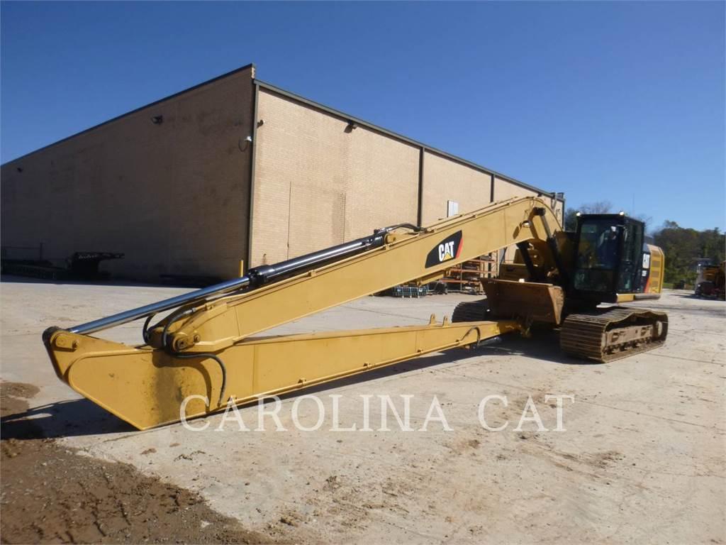 Caterpillar 329FL, Excavatoare pe senile, Constructii