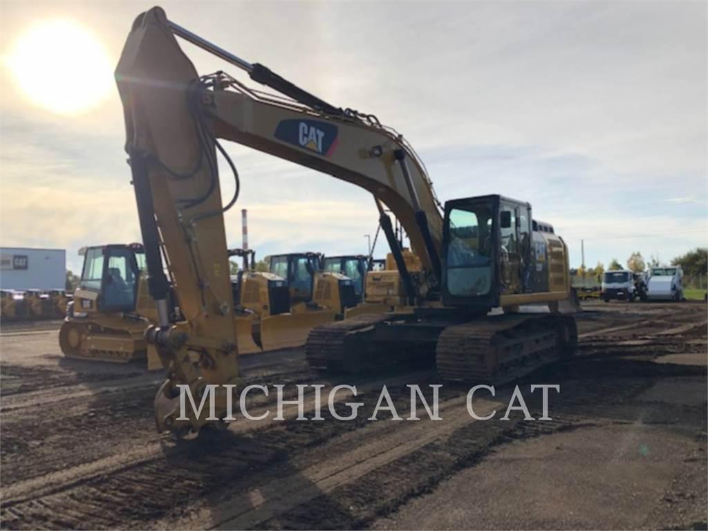 Caterpillar 329FL PMQ、履带挖掘机、建筑设备