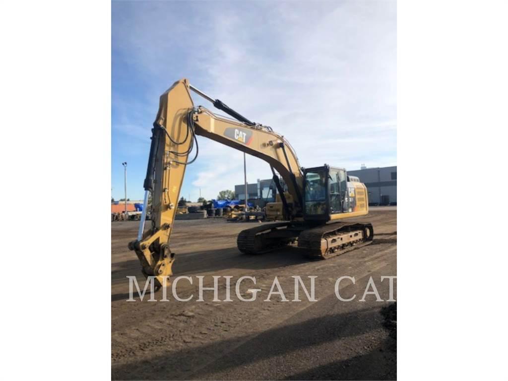 Caterpillar 329FL PQ、履带挖掘机、建筑设备