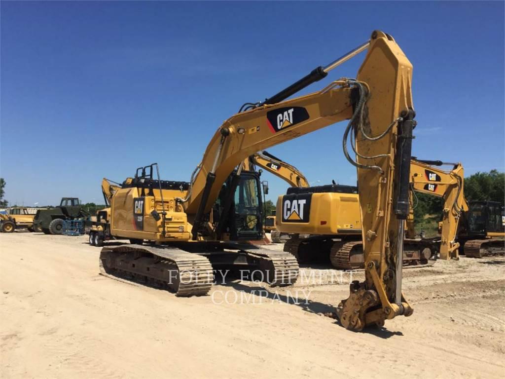 Caterpillar 329FL10, Crawler Excavators, Construction