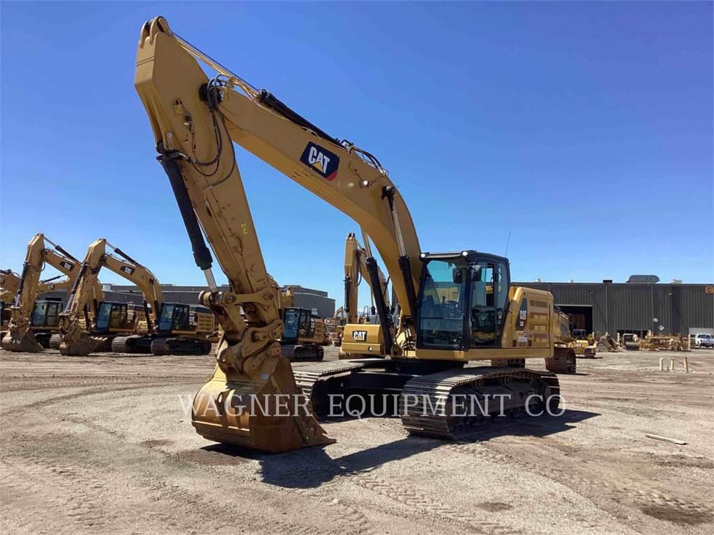 Caterpillar 330, Escavadoras de rastos, Equipamentos Construção