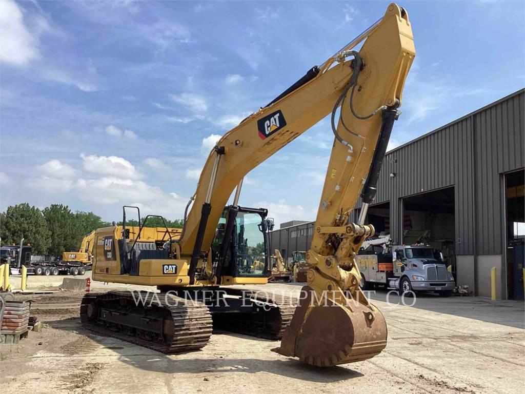 Caterpillar 330, Excavatoare pe senile, Constructii