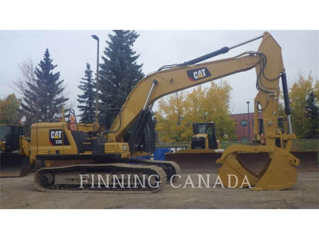 Caterpillar 330-07、履带挖掘机、建筑设备