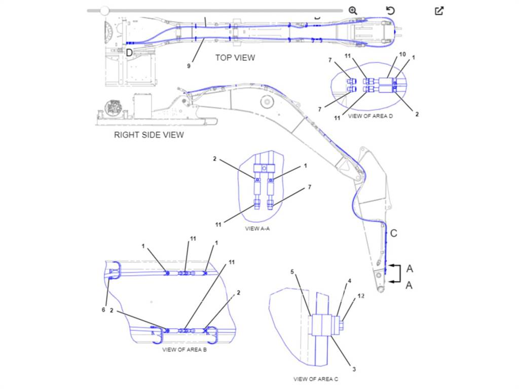 Caterpillar 330.QC.KIT, Quick Connectors, Construction