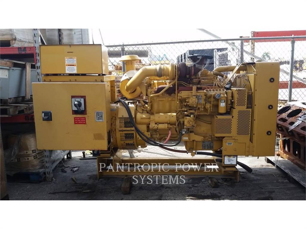 Caterpillar 3306, Stationary Generator Sets, Construction