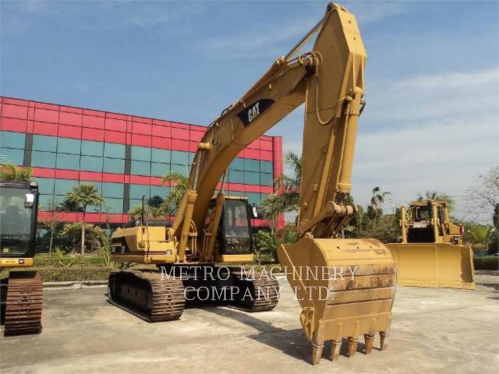 Caterpillar 330B, Crawler Excavators, Construction