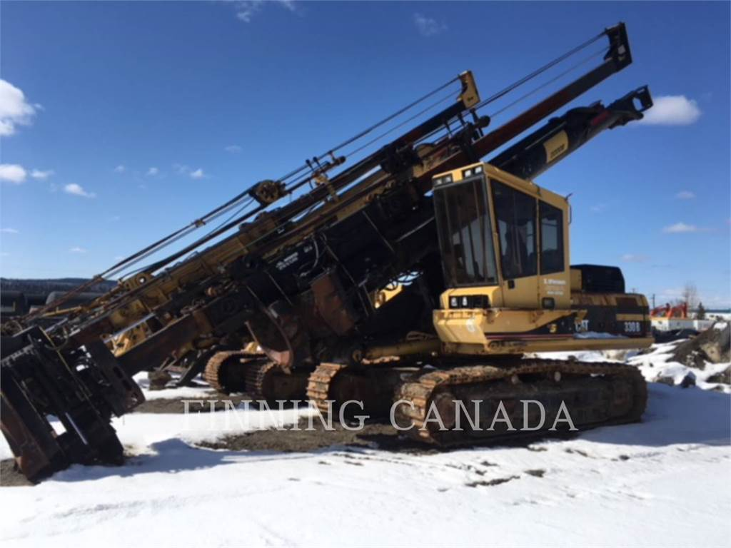 Caterpillar 330BL, Petroleum Engines, Construction
