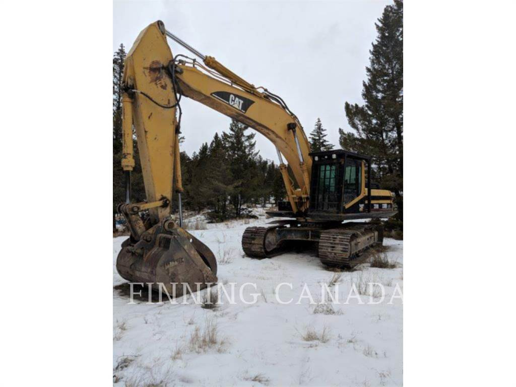 Caterpillar 330BL, Crawler Excavators, Construction