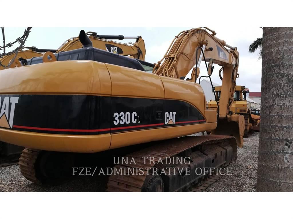 Caterpillar 330CL、クローラー式油圧ショベル(パワーショベル・ユンボ)、建設