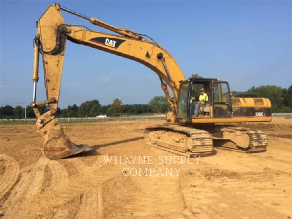 Caterpillar 330CL, Excavatoare pe senile, Constructii