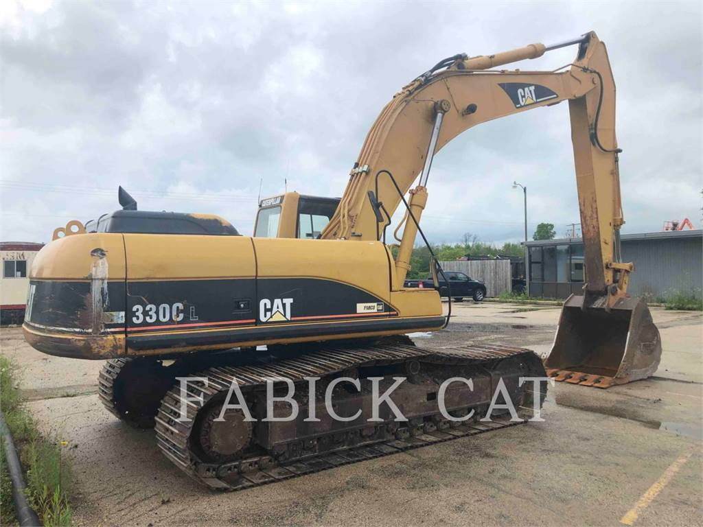 Caterpillar 330CL, Crawler Excavators, Construction