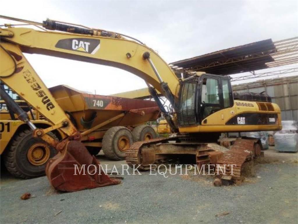 Caterpillar 330D、クローラー式油圧ショベル(パワーショベル・ユンボ)、建設