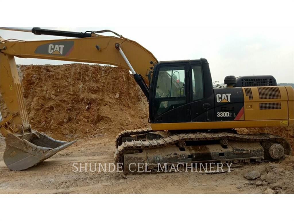 Caterpillar 330D2L, Crawler Excavators, Construction
