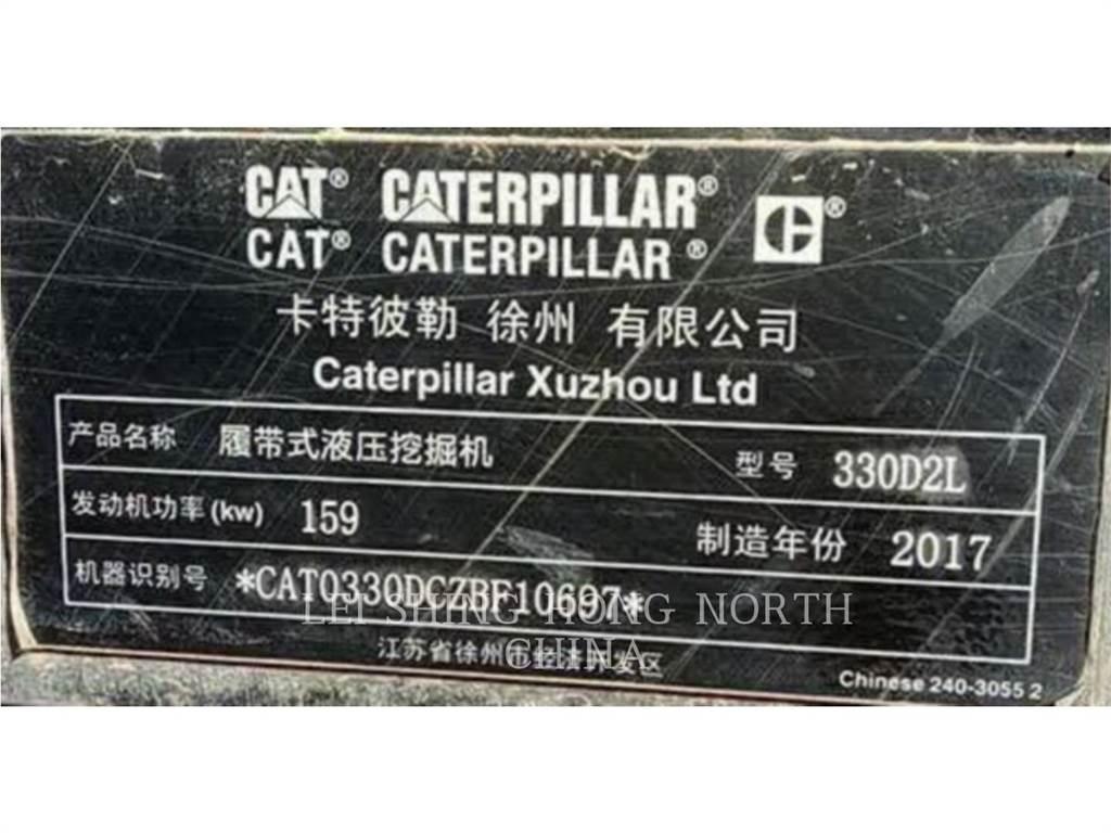 Caterpillar 330D2L, Excavatoare pe senile, Constructii