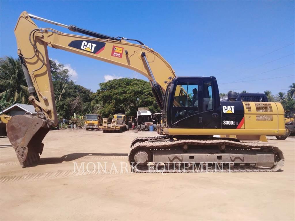 Caterpillar 330D2L, Escavadoras de rastos, Equipamentos Construção