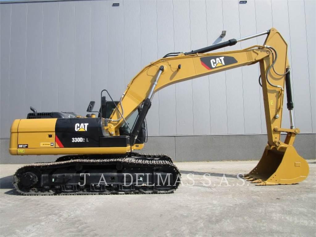 Caterpillar 330D2L、履带挖掘机、建筑设备