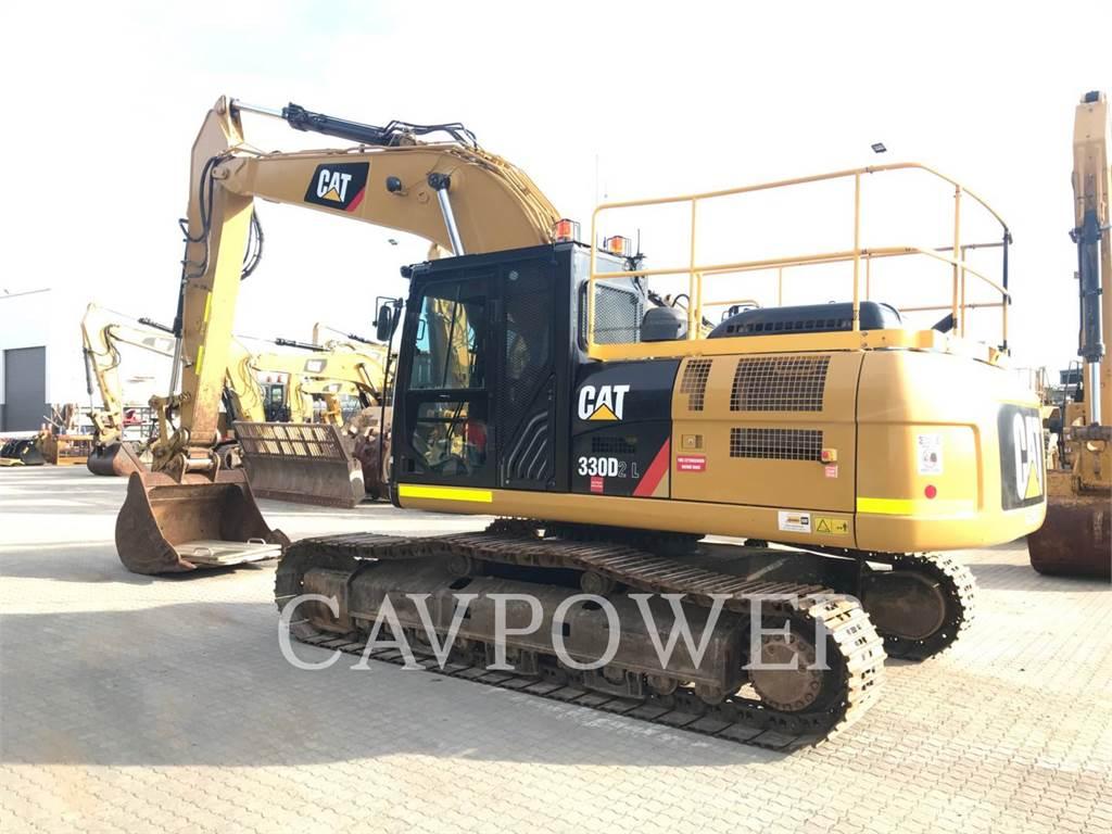Caterpillar 330D2L, Raupenbagger, Bau-Und Bergbauausrüstung
