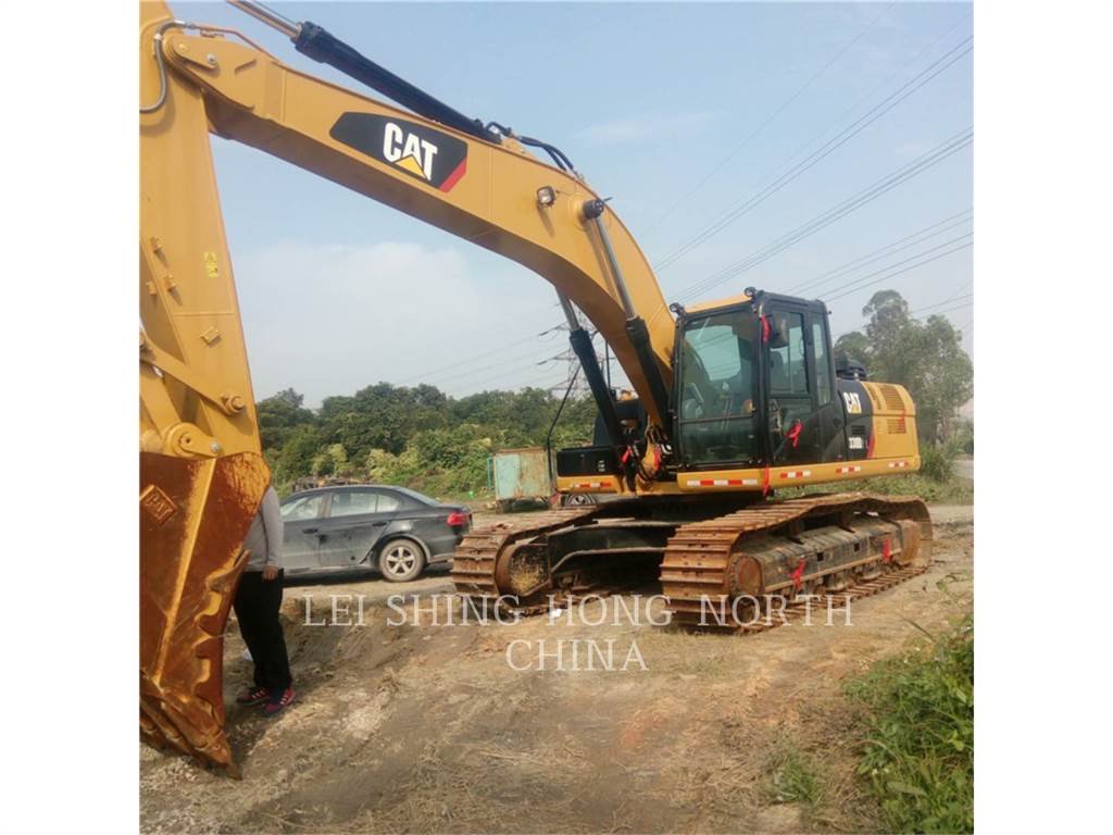 Caterpillar 330D2L, Crawler Excavators, Construction
