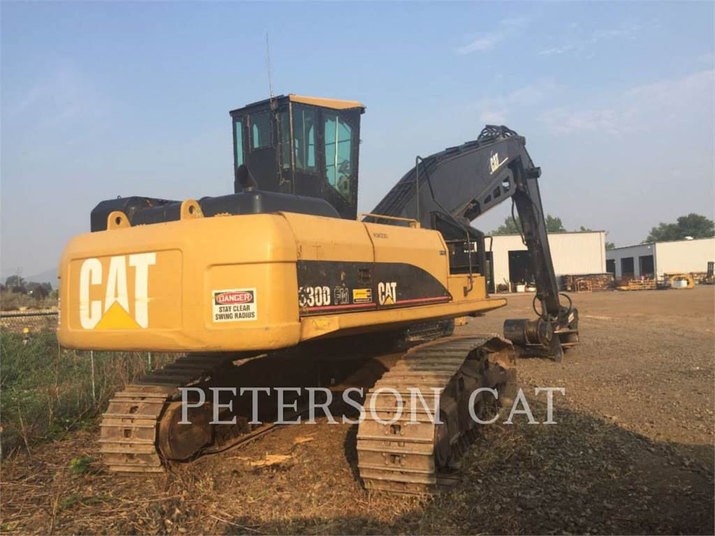 Caterpillar 330DFMLL, Abatteuse groupeuse, Forestier