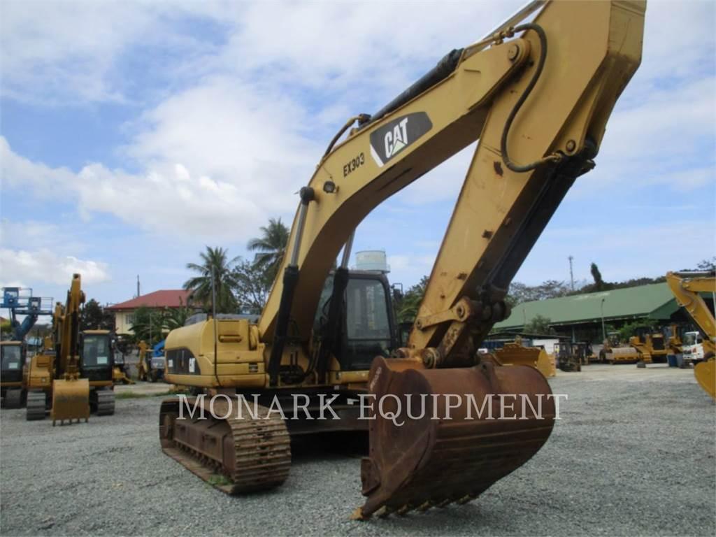Caterpillar 330DL、履带挖掘机、建筑设备
