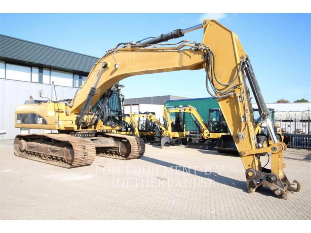 Caterpillar 330DL, Excavatoare pe senile, Constructii