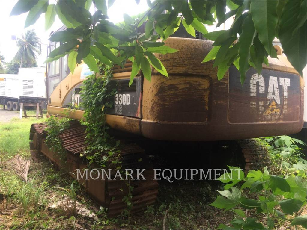 Caterpillar 330DL、クローラー式油圧ショベル(パワーショベル・ユンボ)、建設