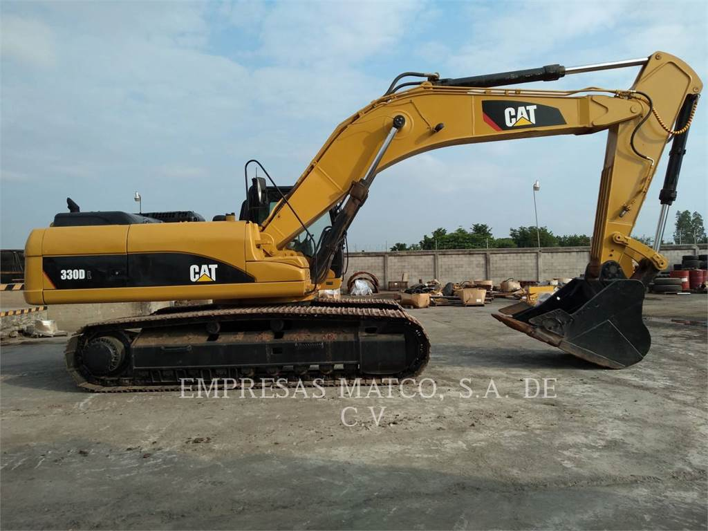 Caterpillar 330DL, Crawler Excavators, Construction