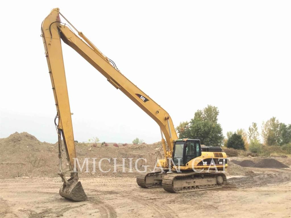 Caterpillar 330DL, Excavadoras de cadenas, Construcción