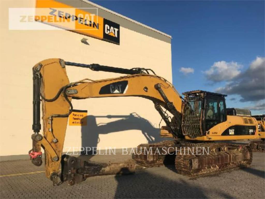 Caterpillar 330DLN, Excavadoras de cadenas, Construcción