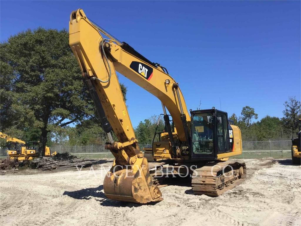 Caterpillar 330F, Escavadoras de rastos, Equipamentos Construção