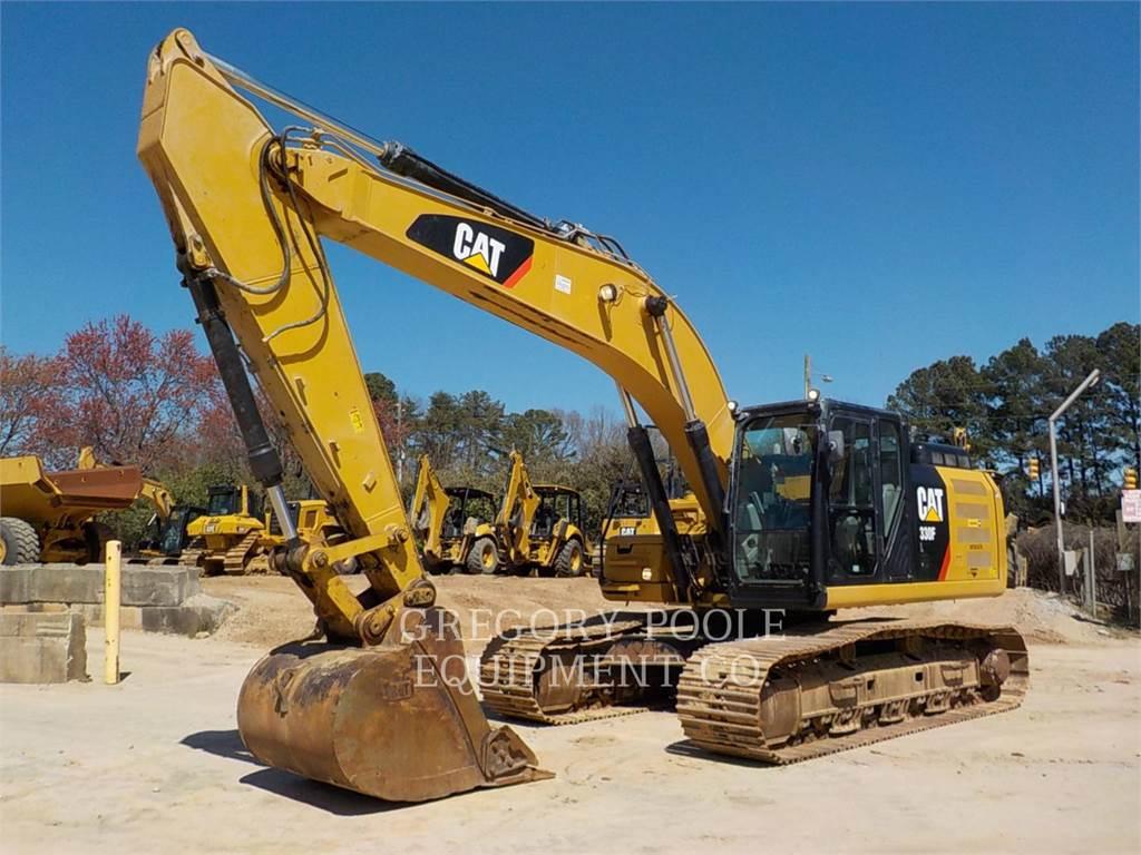 Caterpillar 330FL、履带挖掘机、建筑设备