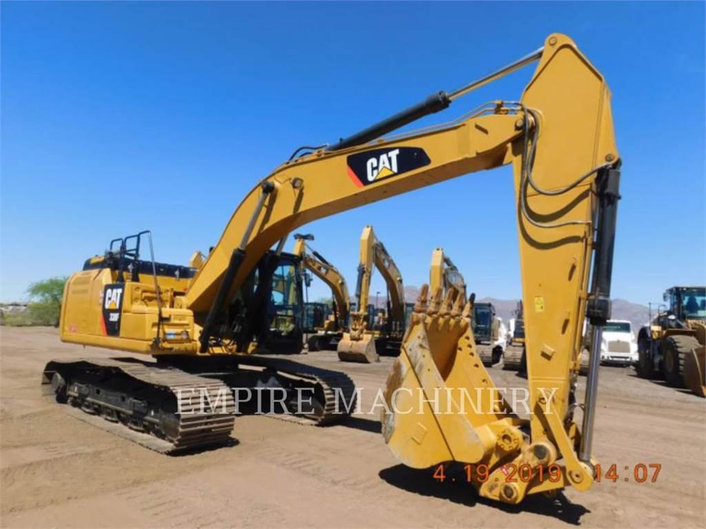 Caterpillar 330FL, Excavadoras de cadenas, Construcción