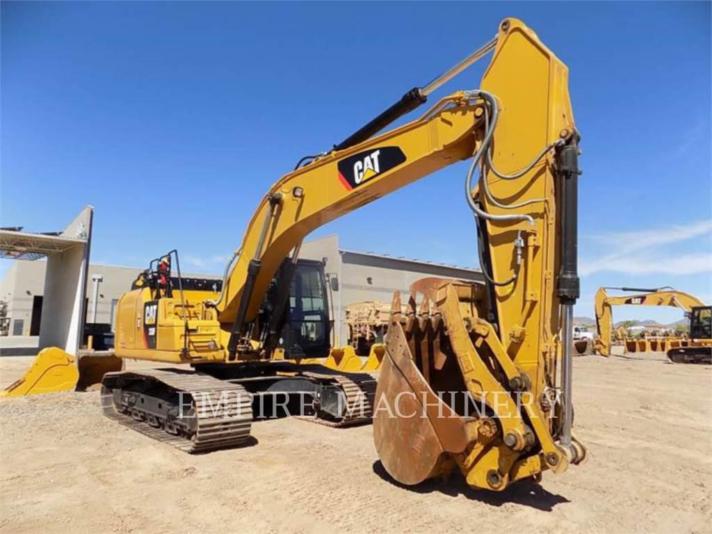 Caterpillar 330FL, Crawler Excavators, Construction