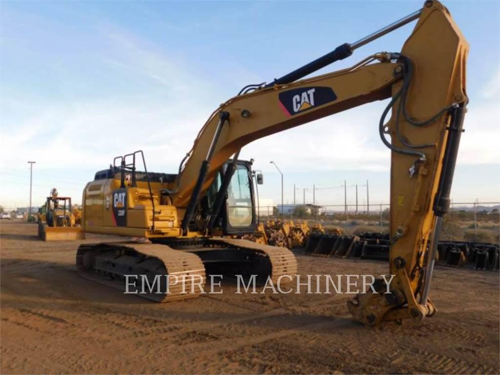 Caterpillar 330FL P, Pelle sur chenilles, Équipement De Construction