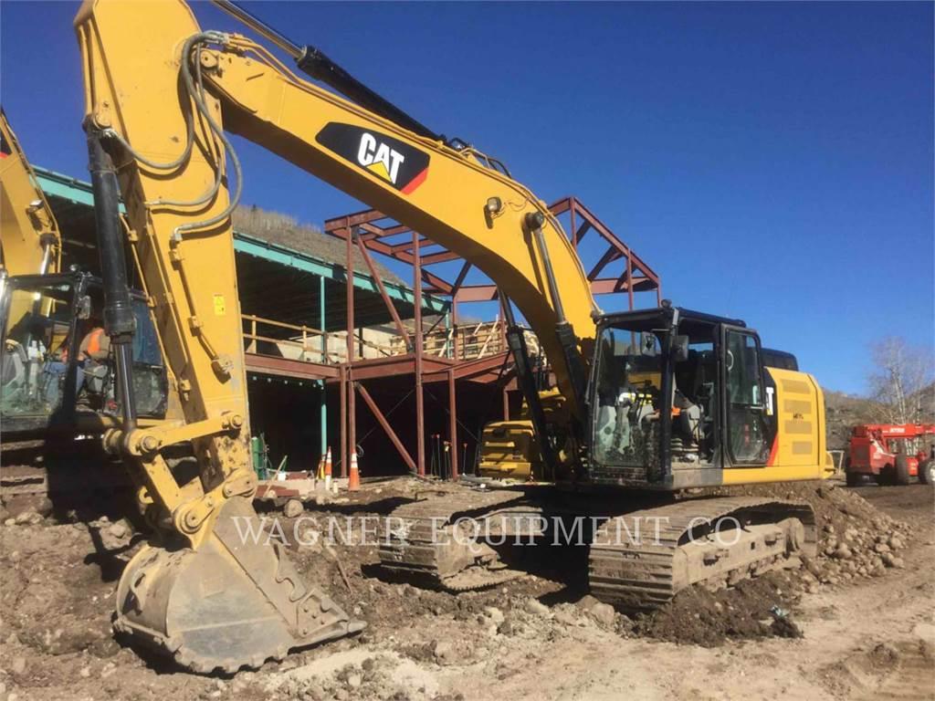 Caterpillar 330FL TC, Escavadoras de rastos, Equipamentos Construção