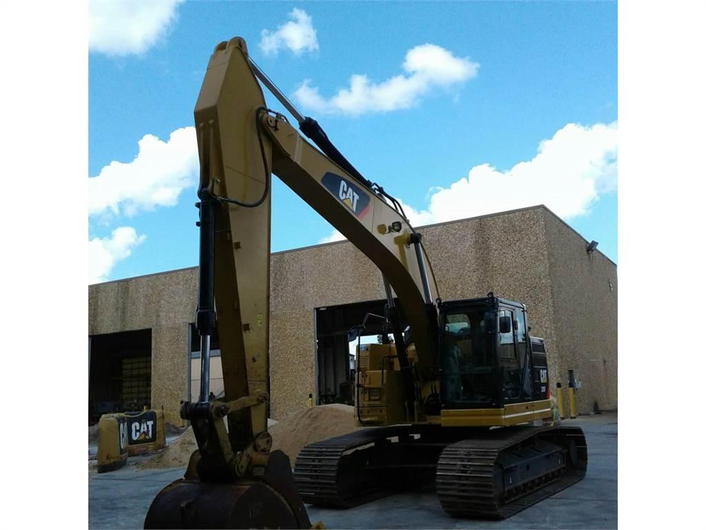 Caterpillar 335 F L CR, Excavatoare pe senile, Constructii