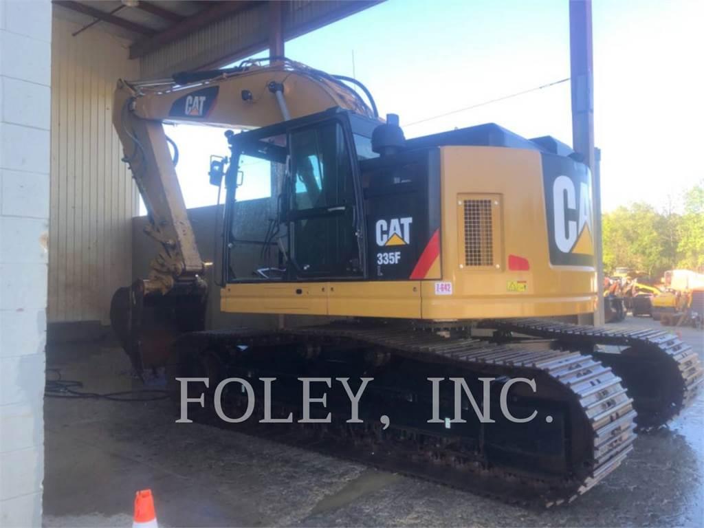 Caterpillar 335F, Crawler Excavators, Construction