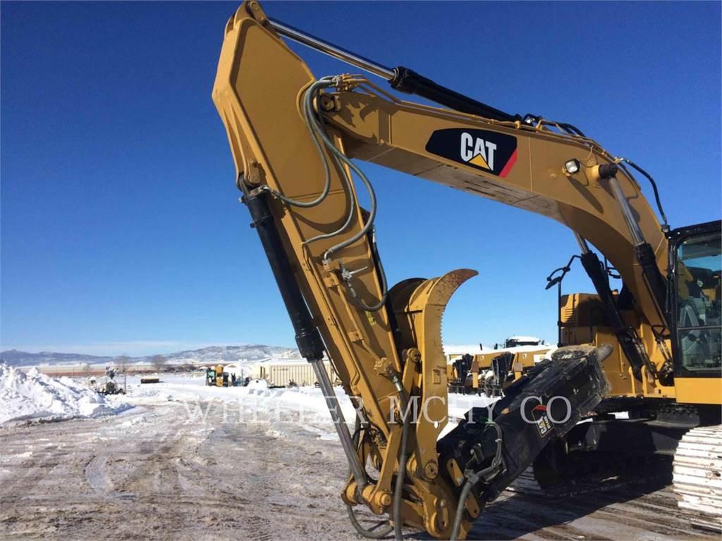 Caterpillar 335F CR CF, Excavadoras de cadenas, Construcción